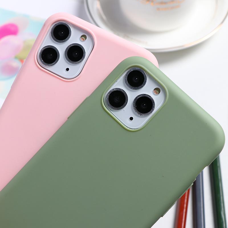 Abacate Frutas bonitos Casos de telefone macio TPU Coque para iPhone 11 Pro XS Max XR X 7 8 6 6S Mais 5 5S SE 2020 Silicone Case Capa Capa