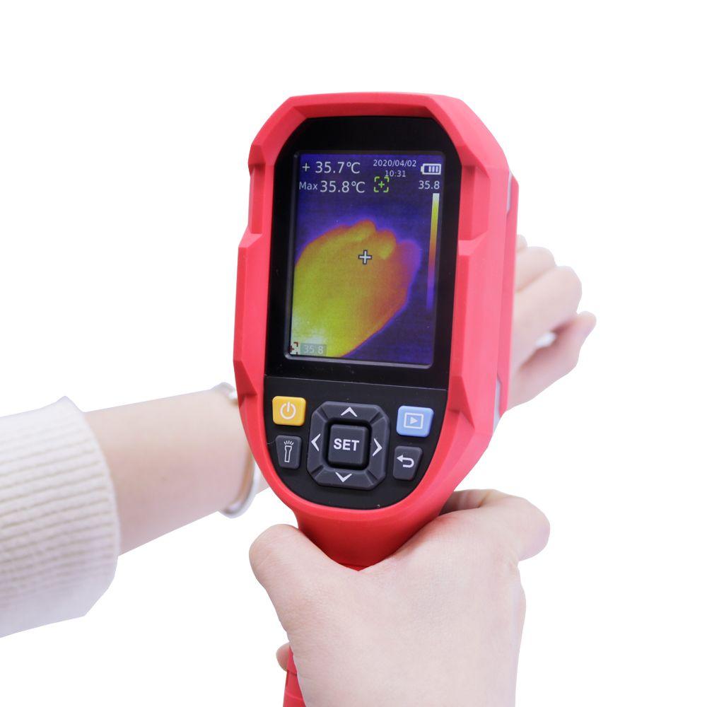UNI-T UTi165K Infrared Thermal Imager Termômetro humanos utilizados para Área Pública