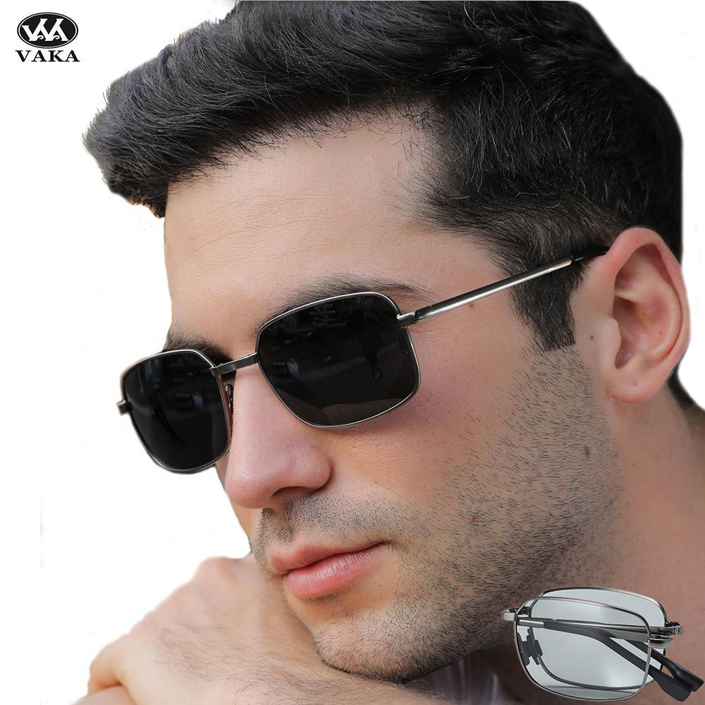2020 Il nuovo modo raffredda maschio Polaroid degli occhiali da sole di vetro di Sun di disegno di marca Occhiali da sole di alta qualità Óculos può essere piegato jqHhh