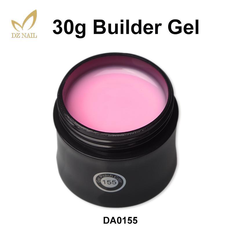 Nail Art Polish LED UV Camouflage Builder Hard Gel Pink Hot Sale 8 Colors Nail Extension Manicure Gel Varnishes