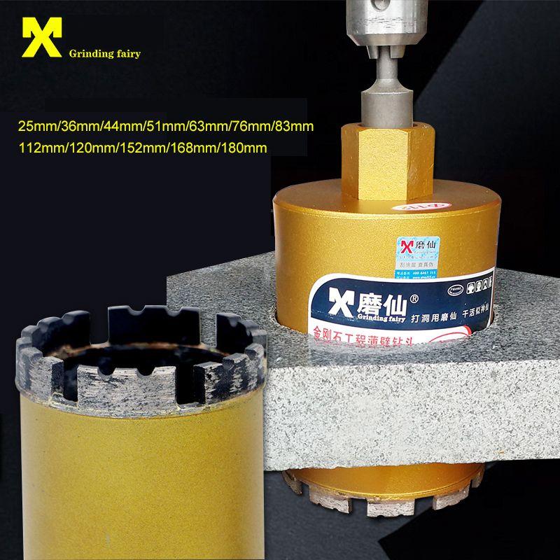 25-180mm do núcleo do diamante Brocas Cut Buraco Saw M22 para Molhado perfuração de betão Perfurador Brocas Para a perfuração de alvenaria seca