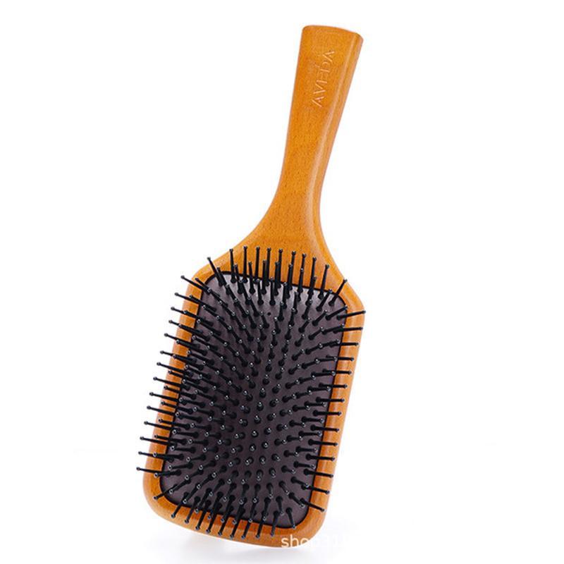 الجديدة أعلى جودة أفيدا المجذاف فرشاة فرجونة نادي تدليك فرشاة الشعر مشط منع Trichomadesis الشعر تدليك DHL