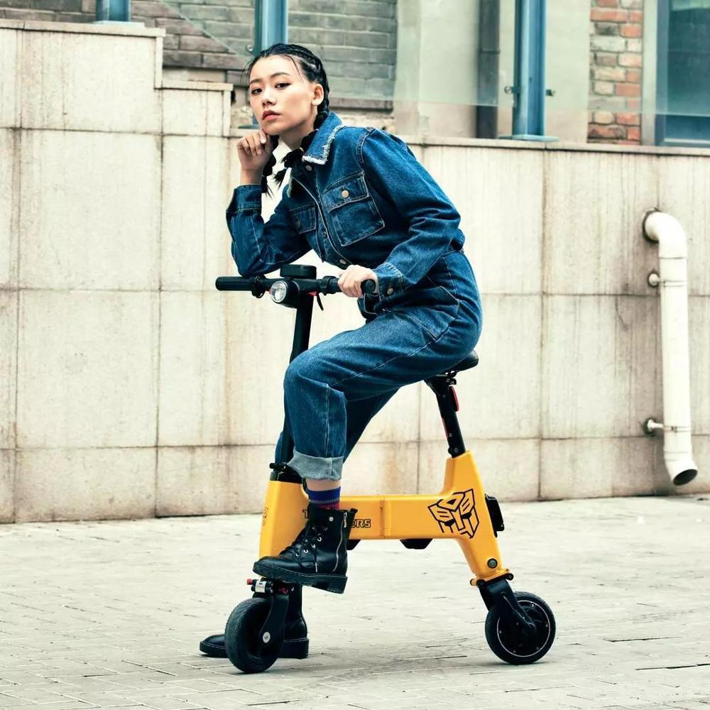 Xiaomi Youpin Himo H1 Mini bateria scooter elétrico 36v de lítio de dobramento TRANSFORMERS bicicleta elétrica | HIMO ebike