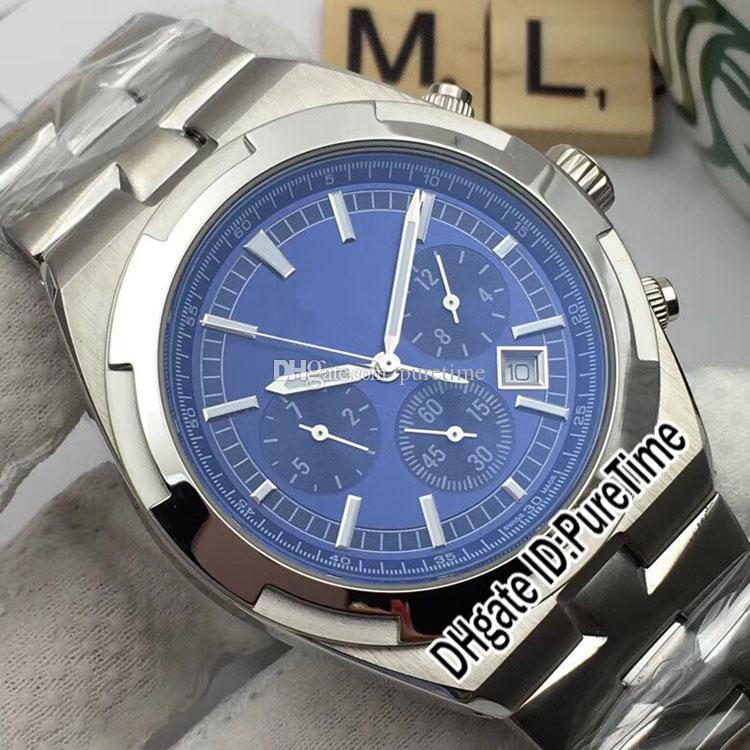 Nuevo 41A1 5500V / 110A-B148 Acero de acero 8 Caja azul Reloj para hombre Relojes deportivos automáticos de color inoxidable en el extranjero de alta marcación calidad PDDJD