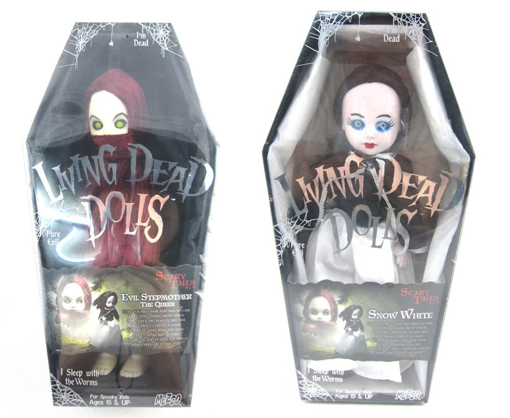 Hot Living Dead Dolls Scary Tales Vol. 4 Horror Evil Stepmother The Queen 26CM Action Figure Toys