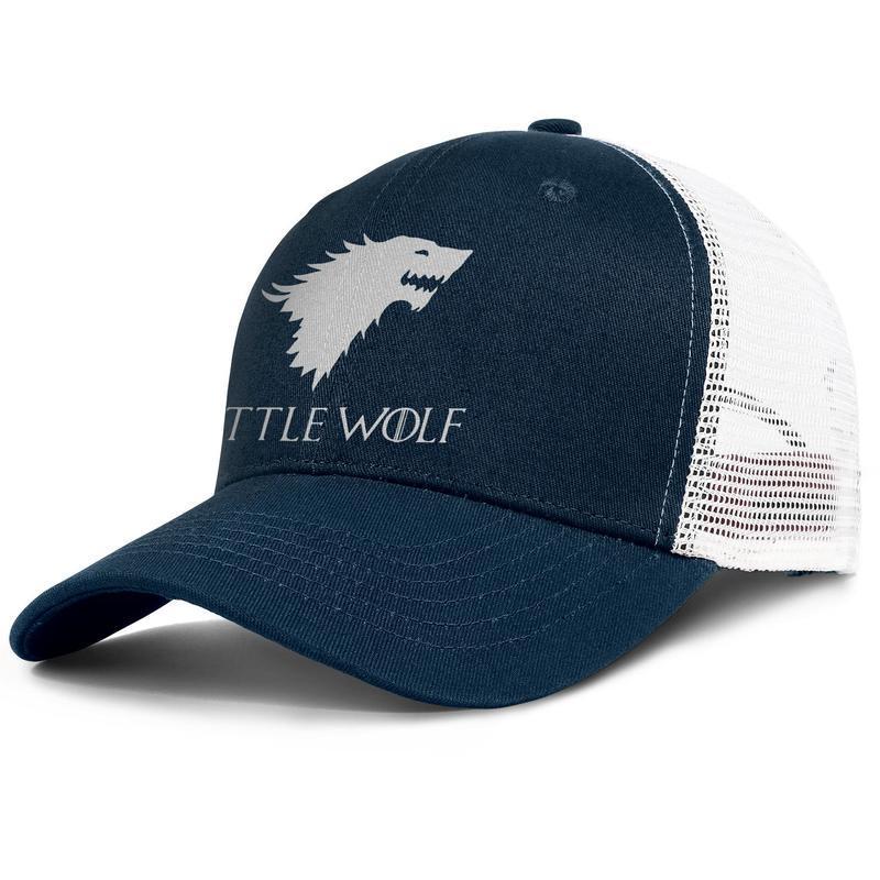 Popular Mesh Trucker caps Men Women-Game of Thrones One Piece Little Wolf designer hats snapback Adjustable Golf hats Outdoor