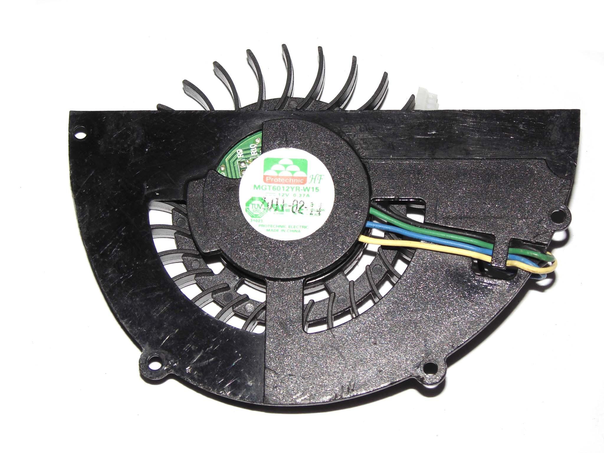 VGA 카드, 비디오 카드에 대한 MAGIC MGT6012YR-W15 12V 0.37A 4 와이어 4 핀 커넥터 냉각 팬