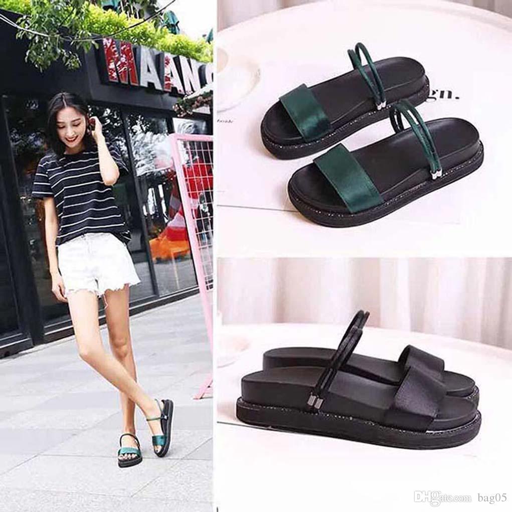 saltos das mulheres calçam sandálias de alta qualidade das sandálias Huaraches dos falhanços Loafers sapato para chinelo bag05 PL1204