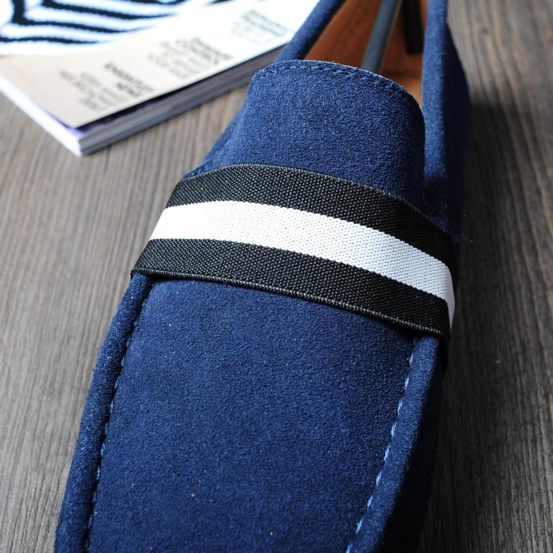Güzel Moda Yaz Erkek Geunine Deri Ayakkabı Nefes rahat ayakkabı erkekler loafer'lar Rahat Tembel Flats
