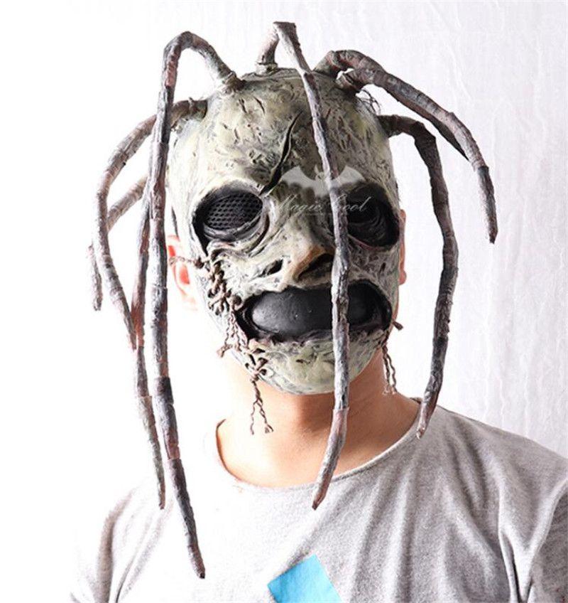 Костюм группы Slipknot Кори Тейлор Мик латексные маски маски Дулекса диджей пвзп косплей Хэллоуин реквизит для взрослых тяжелых металлов реквизит поставок