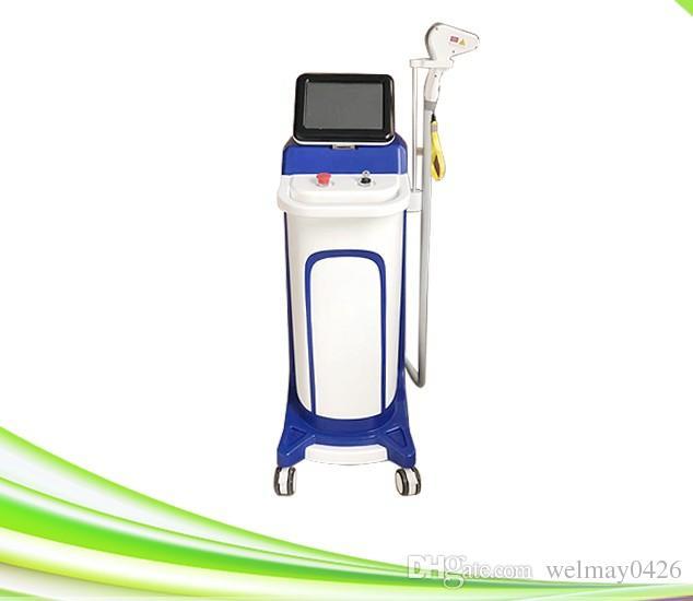 Máquina de depilación láser potente máquina de depilación láser diodo spa 808