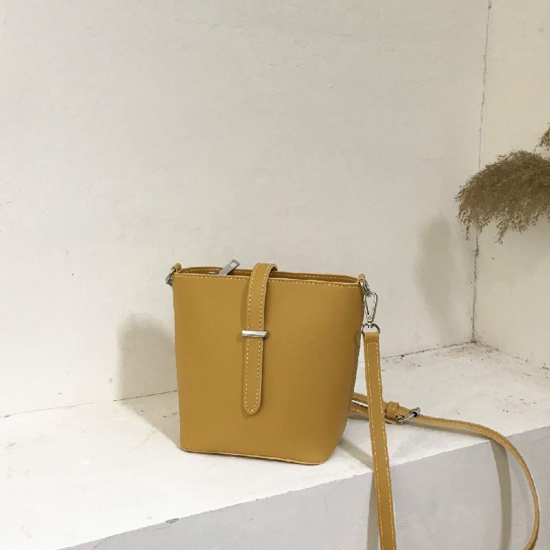 Сумка женская 2020 новая мода ведро Сумка корейский стиль сумки на ремне