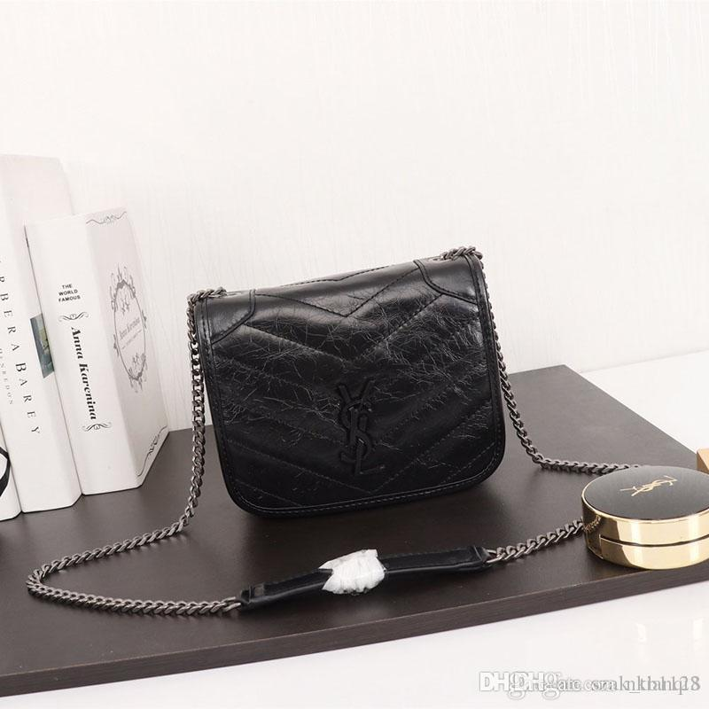 Nouveau design de luxe en cuir sac à main designer chaîne en métal de luxe de la mode sac à main dames sac à bandoulière modèle conçu: 583103