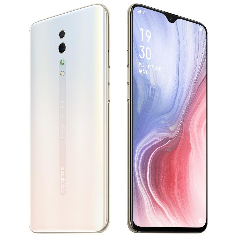 """Original OPPO Reno Z 4G LTE Cell Phone 6GB RAM 256GB ROM Helio P90 Octa Core Android 6.4"""" Full Screen 48.0MP OTG Face ID Smart Mobile Phone"""