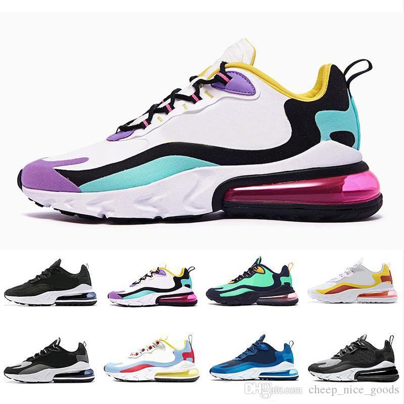 2019 Designer-Schuhe Bewertung 270 reagieren Männer Frauenschuhe 270s Phantom BAUHAUS OPTICAL Hyper Jade Trainer Sport-Männer Designer-Schuhe laufen size36-45