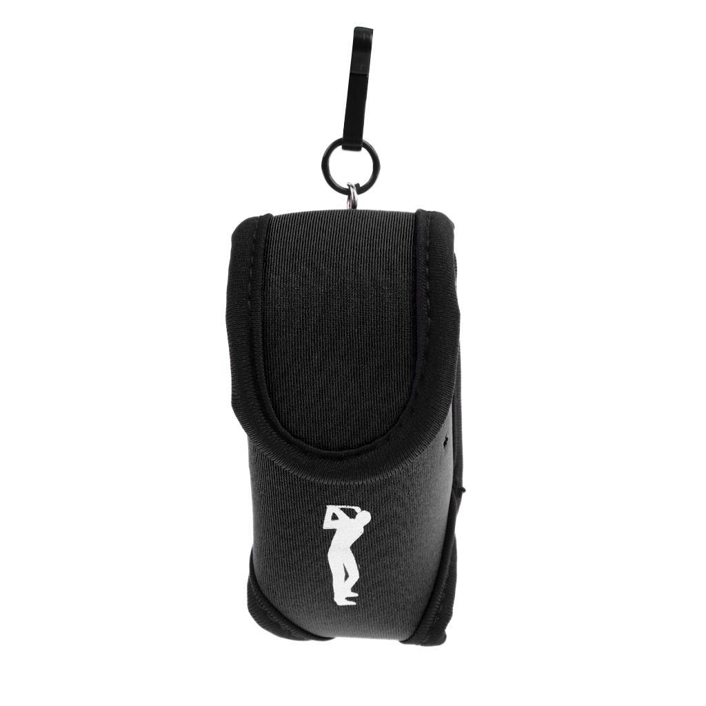 Установка упругих маленьких тройников держатель для гольфа мяч талия сумка аксессуар хранения мешочек гольф неопрен htxxa ftubg