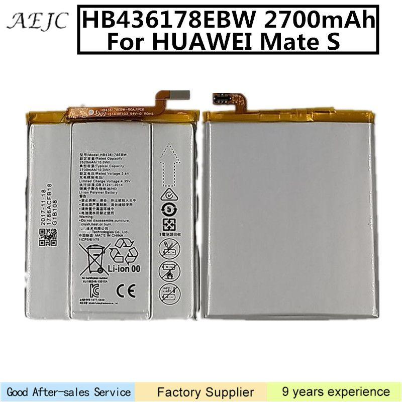 2021 Hb436178ebw 2700mah For Huawei Mate S Crr Cl00 Crr Ul00 Battery For Huawei Mate S Batterie Batterij From Ipartnercompany 10 68 Dhgate Com