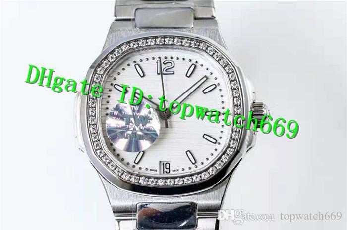 TW New Luxury Ladies Watch 7188 Reloj Cal.324 Movimiento automático Zafiro Cristal Diamante Bisel 316L Acero inoxidable Reloj de mujer