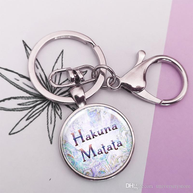 Inspirierende Zitat Schlüsselanhänger Glas Cabochon Auto Schlüsselanhänger handgefertigten Schmuck