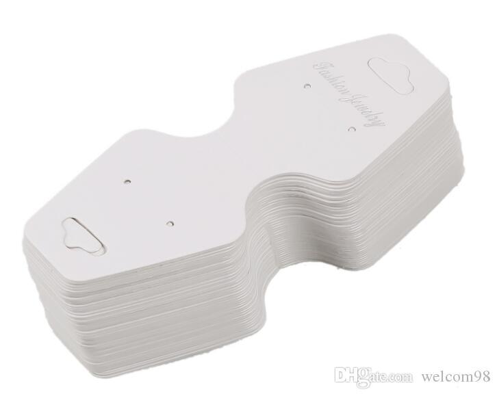 Бумажные этикетки ценники карты карта украшений карт для ожерелья браслет серьги серьги 100 шт. / Лот LA8