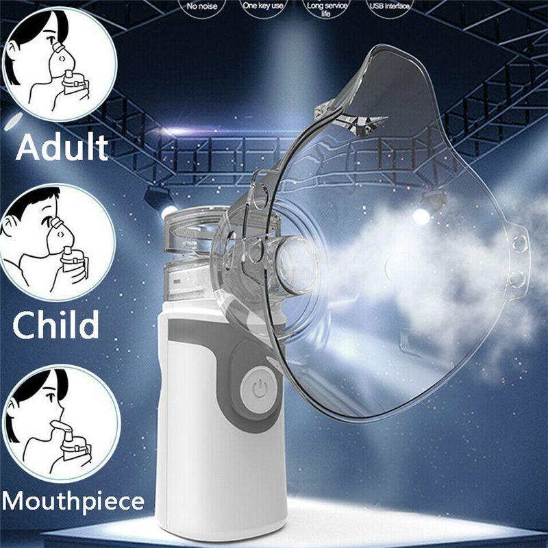 Çocuklar Mini Taşınabilir nebulizador için Atomizer inhalator inhaler ABD STOK 2020 SICAK tıbbi ekipman Nebulizatör El Astım portatil