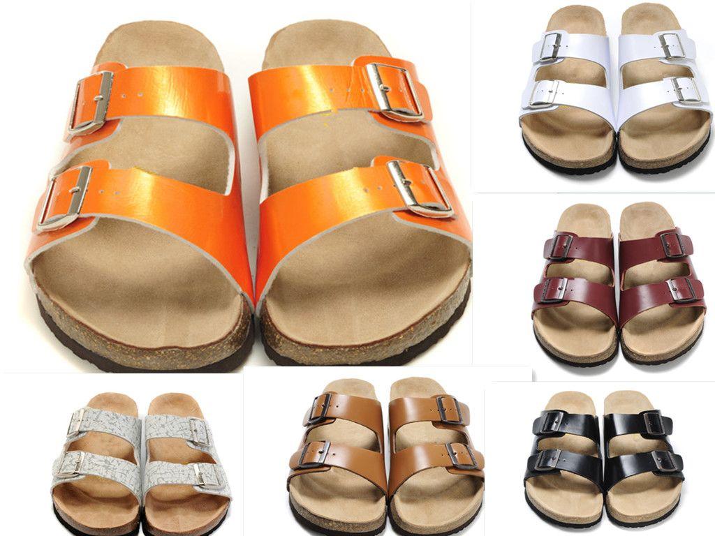 Novo designer de chinelos calças de engrenagem dos homens listrado sandálias causal deslizamento verão chinelos Huaruixi flip-flops chinelos da melhor qualidade