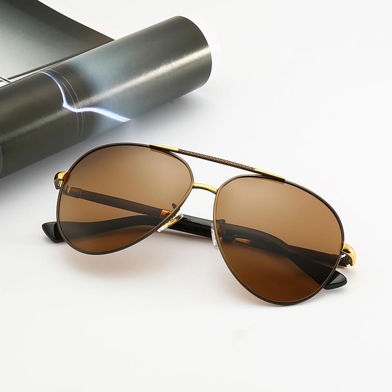 Caliente populares Marca Lentes de sol de rayos Hombres Mujeres plata del metal de la manera de ciclo al aire libre del espejo del marco prohibición len Gafas de sol con caja marrón