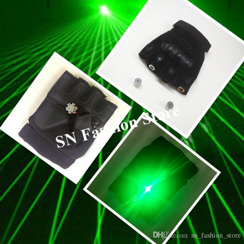 M48 With palm light green laser gloves 2pcs laser heads bar show wears laser man projector led costume stage costumes lighted ds performance