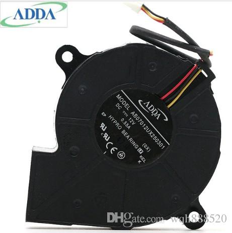 الجملة الجديدة ADDA AB07012UX250301 DC12V العرض مراوح التبريد