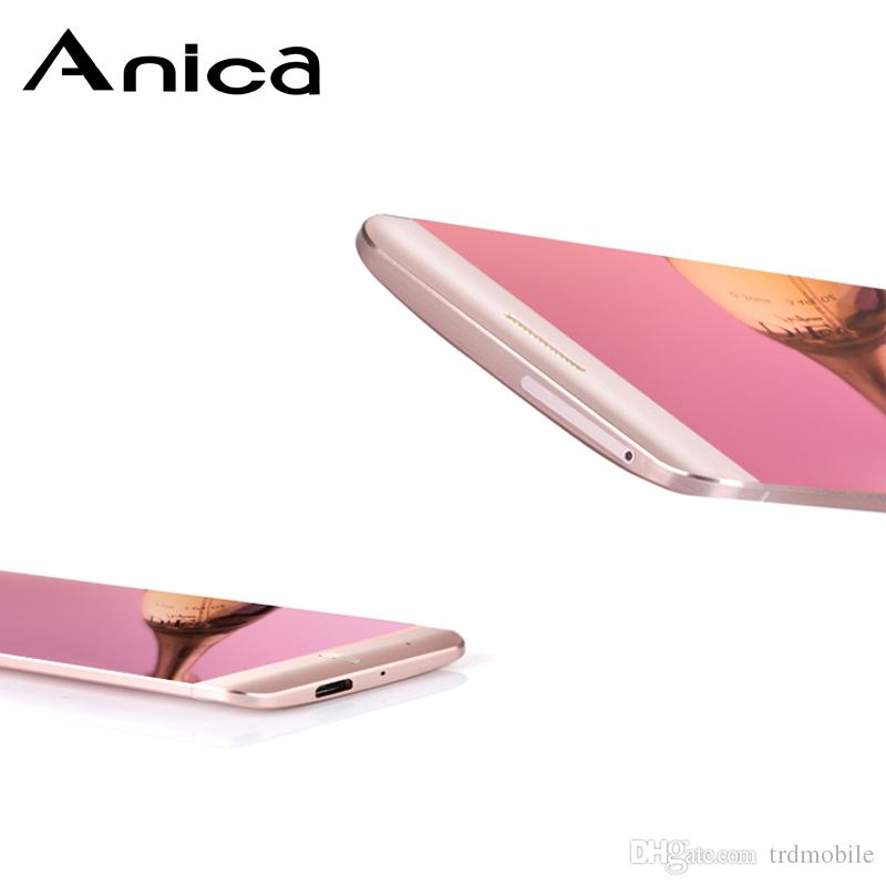Anica A7 small phone gsm mobile Bluetooth Dailer Dustproof Shockproof mini phones international bands dual sim FM MP3 Music wireless phones
