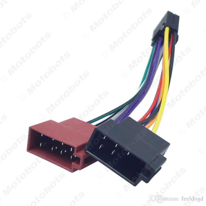 speaker wiring harness adapter 2020 car stereo radio 16 pin pi100 iso wiring harness adapter for  16 pin pi100 iso wiring harness adapter