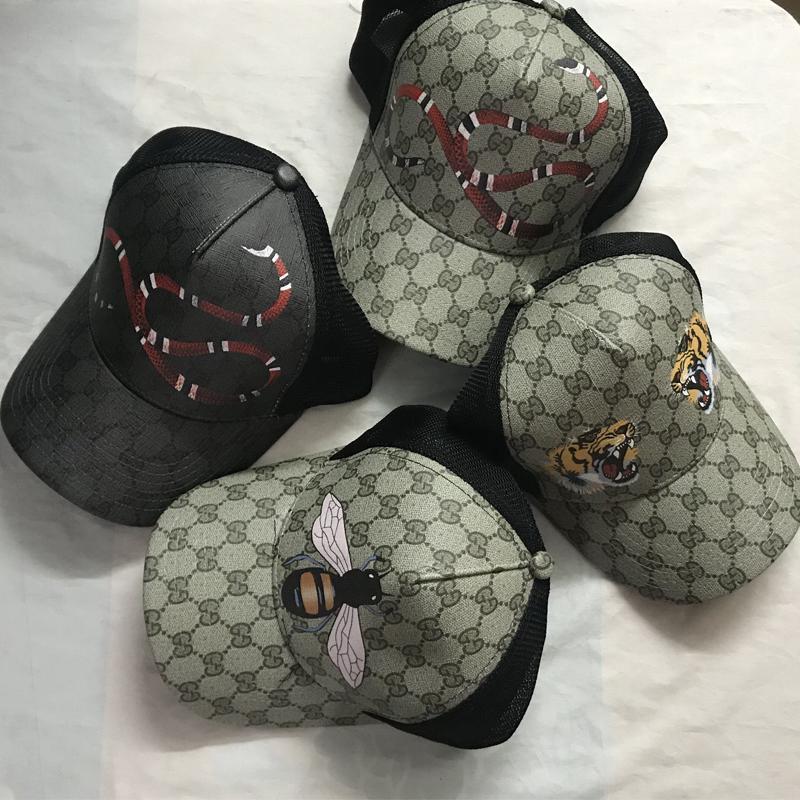 2020 الأفعى كاب نمور سنببك قبعات البيسبول قبعات أوقات الفراغ النحل SNAPBACKS القبعات في الهواء الطلق casquette قبعة الغولف الرياضية للرجال والنساء