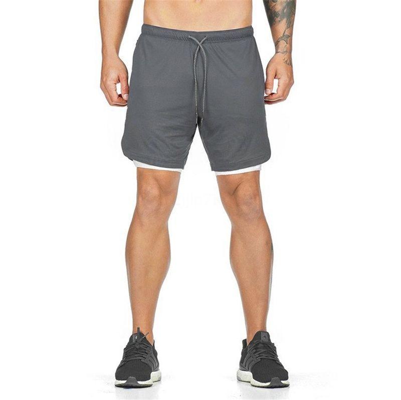 Shorts Mens Compression poches Skinny Shorts Homme Fitness Bodybuilding Hommes Culottes Muscle court entraînement sport Pantalons Homme Cx200620 # 30