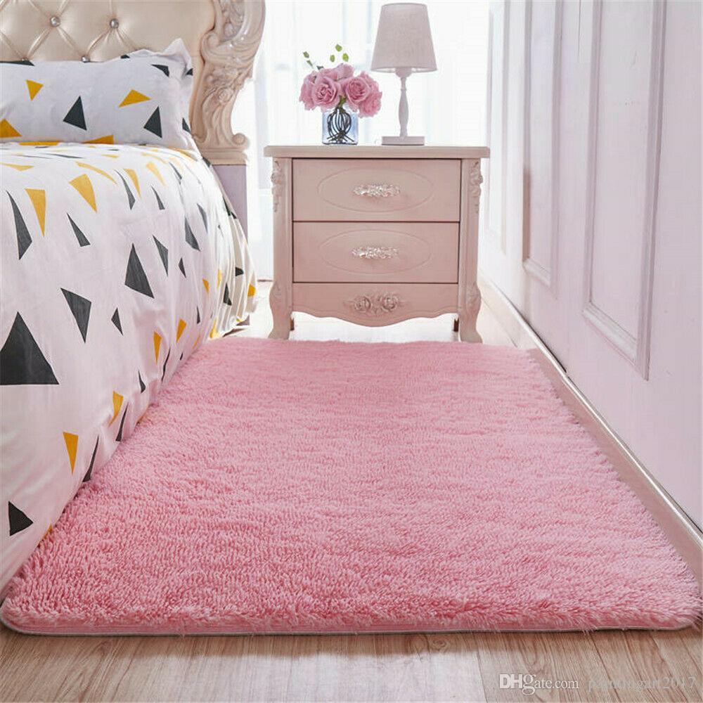 sporco impermeabile e anti tappeto del salotto Tavolino casa ispessimento Moquette Camera Comodino tappeto morbido e confortevole