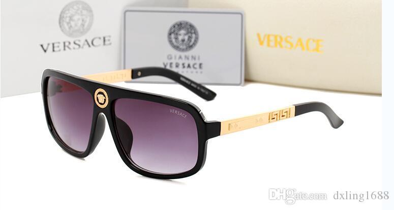 Lunettes de soleil rondes en métal Designer or Flash lentille en verre For9913 Mens Womens Mirror Sunglasses Lunettes de soleil rondes unisexe sun glasse livraison gratuite