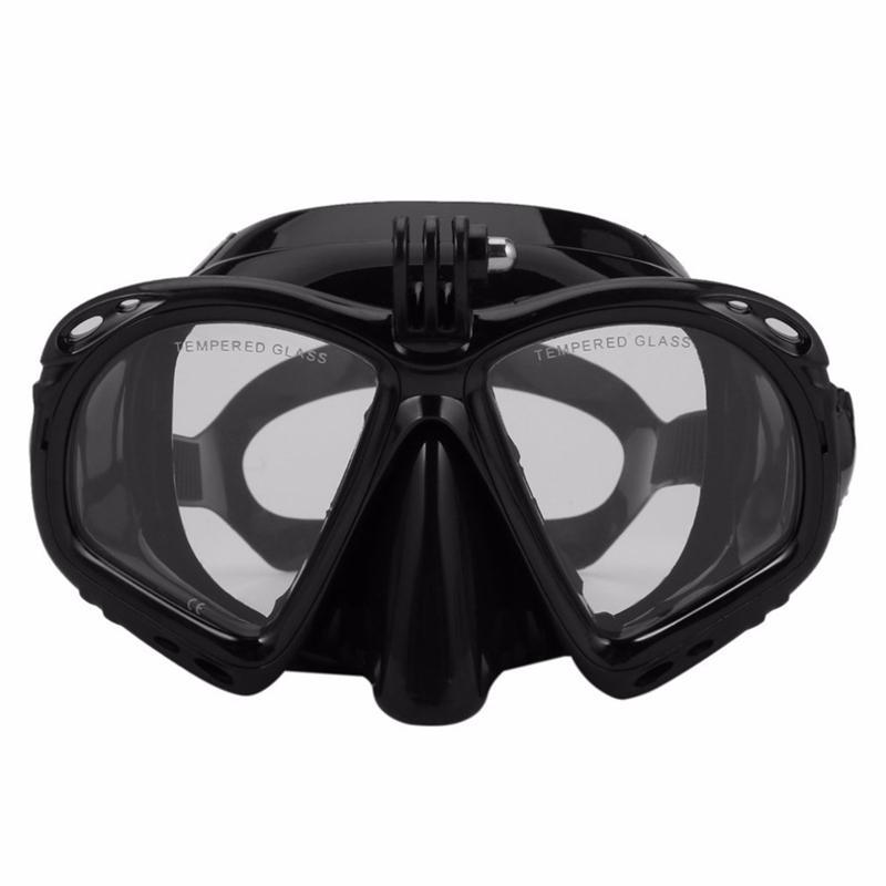 Hot HG-professionale Immersione Maschera subacquea Snorkel Occhialini da nuoto Scuba Diving attrezzature idonee per lo sport fotocamera più,