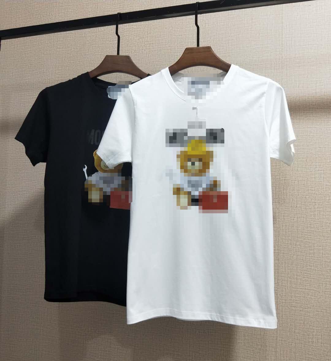 Mens progettista delle donne T-shirt di estate di modo delle donne degli uomini T superiori di marca HipHop maniche corte T-shirt Stampa Paneled Streetwears 2051104H