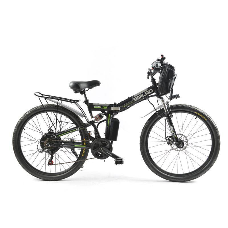 Elektrische Fahrrad Leistungsstarke Elektrische Fronttasche 48 V 12AH 500 Watt Berg eBike 24 Speed Bike Russland freies Verschiffen
