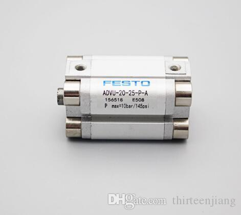 Qty 5 Per Lot Original FESTO Compact Cylinder ADVU-20-25-P-A New In Box Free Expedited Shipping