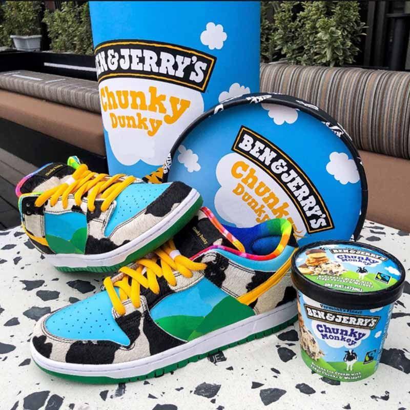 """Latte scatola di gelati a basso cilindrica Pro QS """"Chunky Dunky"""" serie a basso-top classici selvatici scarpe sportive casuali contenitore di pattino cilindrico"""