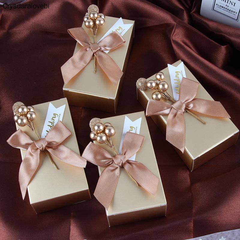 Heiße Verkaufs-Wedding Favor-Süßigkeit-Kästen Geburtstags-Party-Dekoration Geschenkboxen Papiertüten-Ereignis-Party Bedarf Verpackungen Geschenkkarton