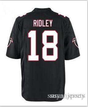 2019 New Atlanta Falcons 2 Matt Ryan 11 Julio Jones 18 Ridley Jersey  Limited 21 Deion Sanders 24 Devonta Freeman Jerseys Mens Color Rushred  Black From ... 470ce2a88