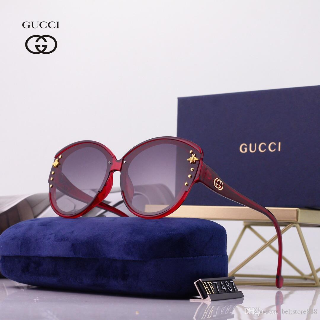 High-End Designer Elegant Stylish Mens Womens Black Square Polarized Sunglasses