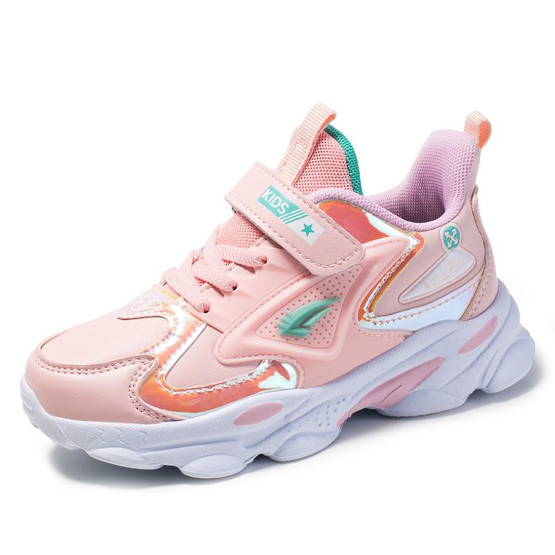 Children Sports Shoes Boys Running Shoes Breathable Comfortable Girls Casual Super Lightweight Kids Sneakers Student