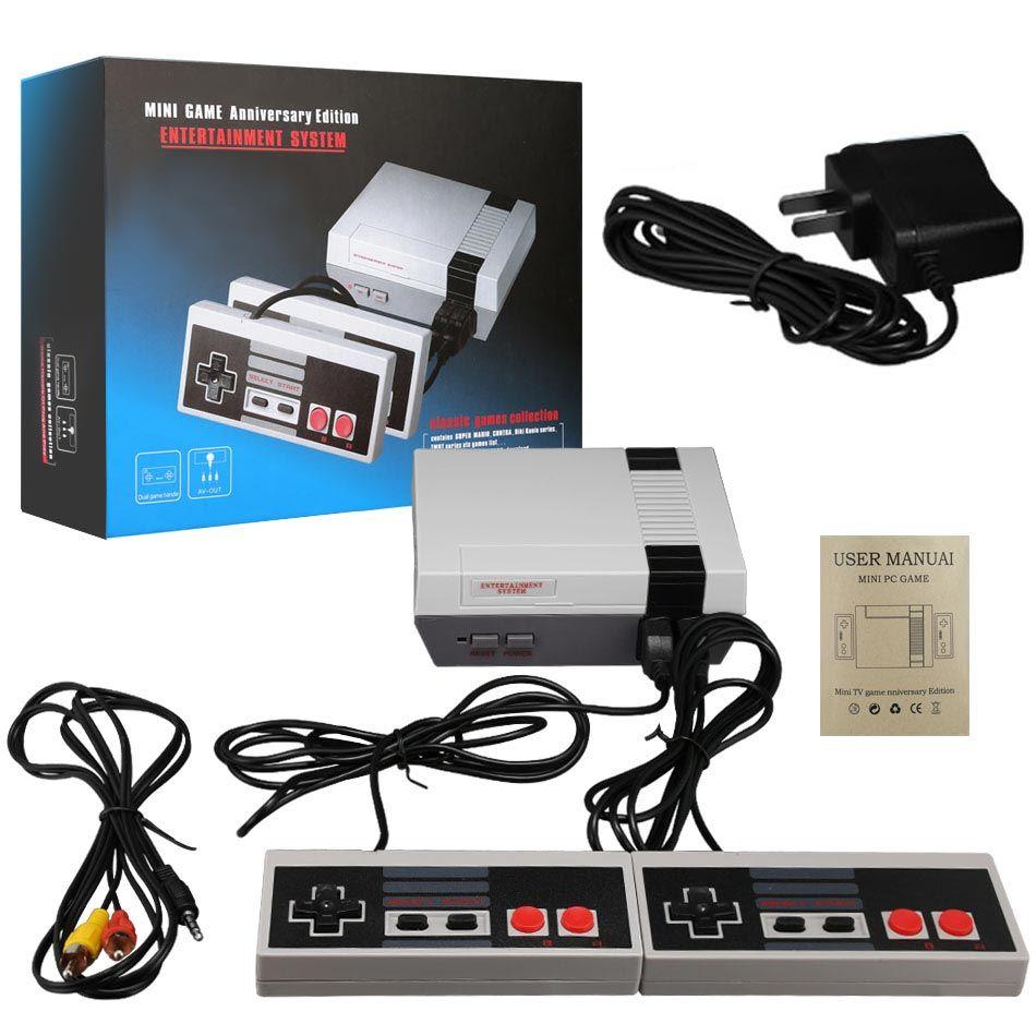 Video Player Handheld Mini Game Console 620 giochi con la scatola di vendita al dettaglio
