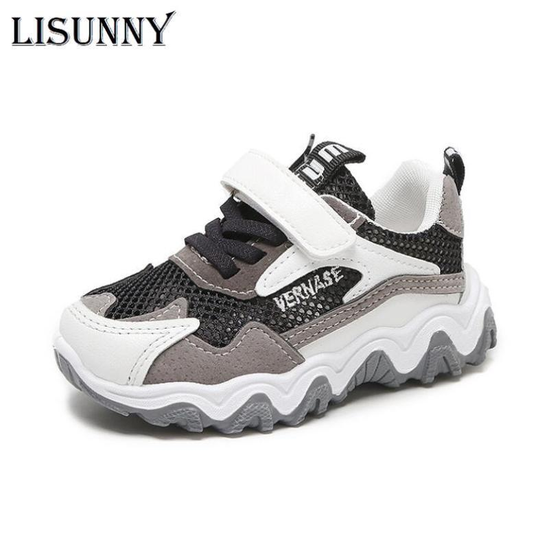 New Baby Sneakers 2020 Fashion Children Flat Shoes Infant Kids Baby Girls Boys Solid Stretch Mesh Sport Run Sneakers Sandals