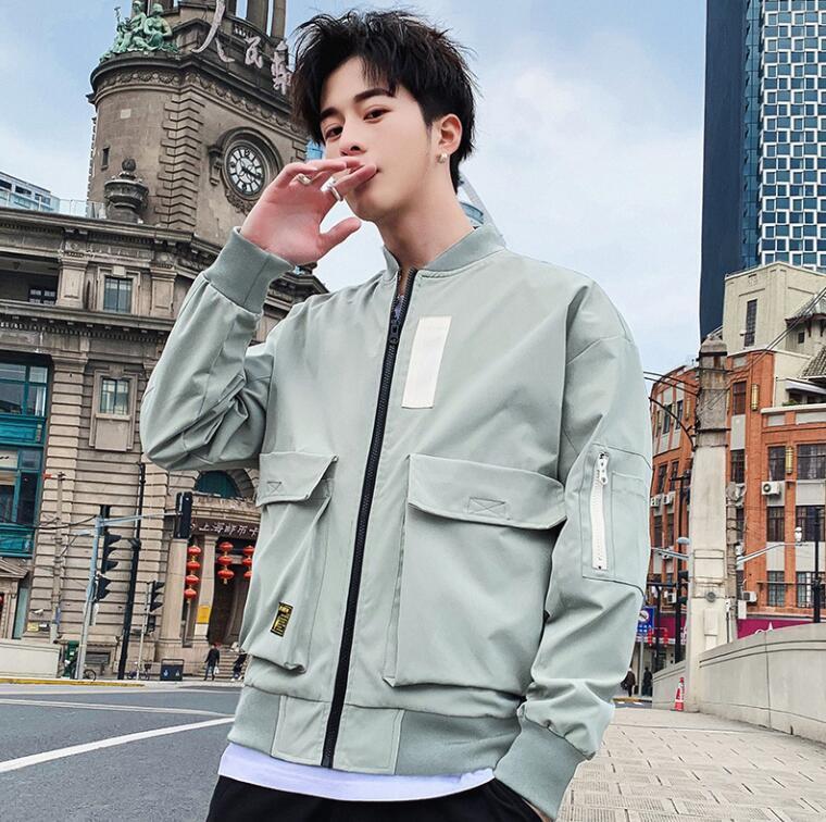 Новый Прибывший Mens Марка куртки с аппликацией для осени Дизайнерских мужских курток с карманами Роскошных пальто с высоко качеством оптовых продаж