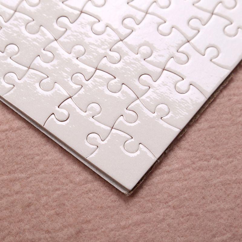 Fedex tamaño A5 bricolaje sublimación Rompecabezas Rompecabezas en blanco impresión Heat Transfer Jigsaw regalo Retorno Local 1 PC