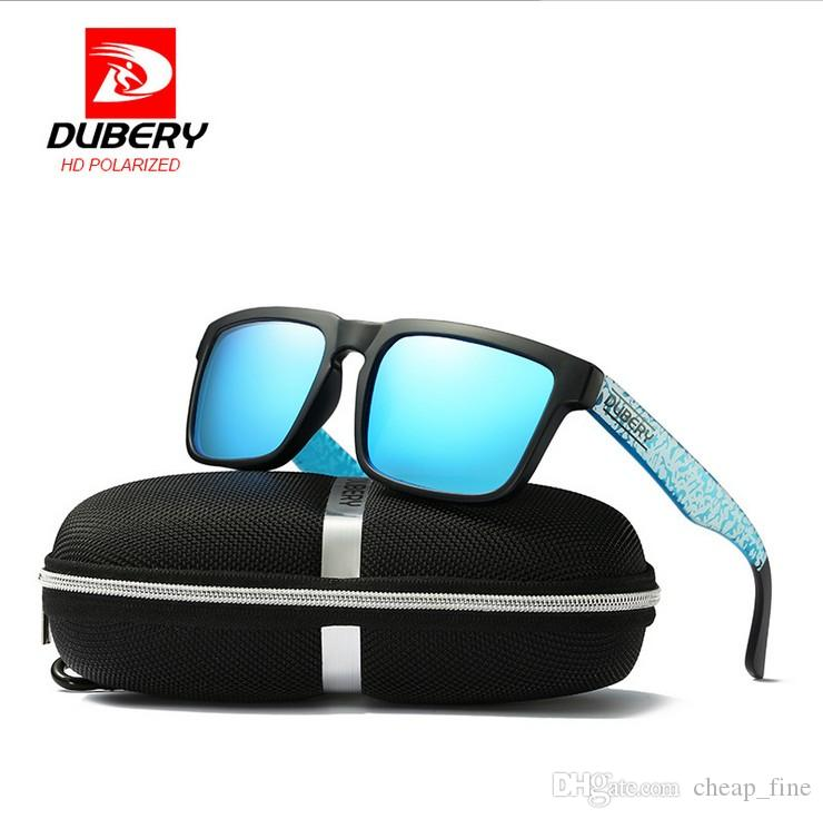 DUBERY Polarized Sunglasses Square Sport Sonnenbrille Herren Damen Driving Retro 2019 Luxury Shades Sonnenbrille UV400