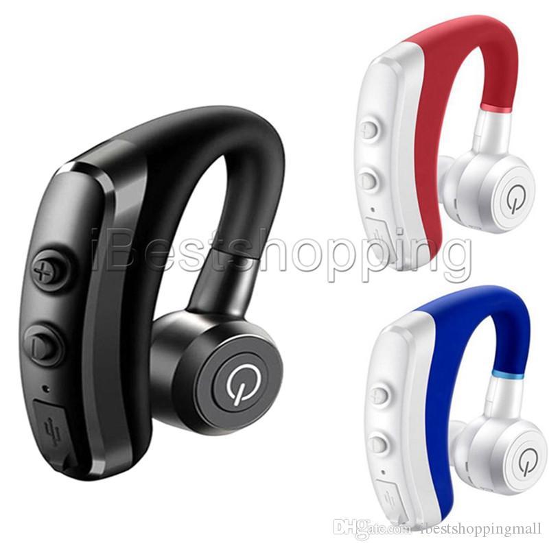 Buena calidad K5 las manos libres inalámbrico con Bluetooth para auriculares de manos libre BT auriculares de teléfono auriculares con micrófono